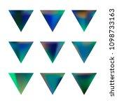 vector gradient reverse... | Shutterstock .eps vector #1098733163