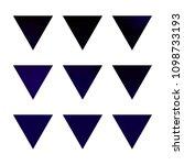 vector gradient reverse... | Shutterstock .eps vector #1098733193