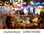 party hight light bokeh... | Shutterstock . vector #1098745583