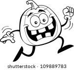 black and white illustration of ... | Shutterstock .eps vector #109889783
