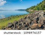 a landscape shot of a rocky... | Shutterstock . vector #1098976157