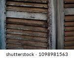 old fashioned windows | Shutterstock . vector #1098981563