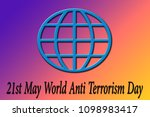 globe shape with written world...   Shutterstock . vector #1098983417