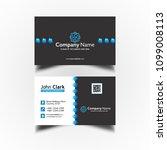 vector modern creative and... | Shutterstock .eps vector #1099008113