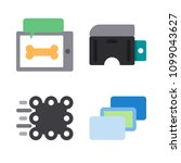 icons virtual reality with... | Shutterstock .eps vector #1099043627