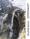 nervion waterfall natural... | Shutterstock . vector #1099046657