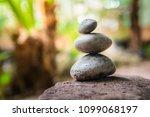 zen  gluten stone  spa concept... | Shutterstock . vector #1099068197