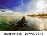 stunning amazing  gorgeous view ... | Shutterstock . vector #1099073543