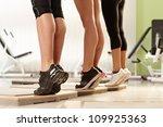 muscular female calves... | Shutterstock . vector #109925363