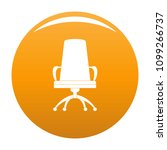 director chair icon. simple... | Shutterstock .eps vector #1099266737