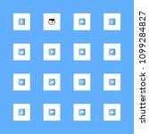 animals icons set. herbivores ... | Shutterstock .eps vector #1099284827
