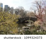 bridge at central park in new... | Shutterstock . vector #1099324373