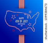 4th of july  independence day   ...   Shutterstock .eps vector #1099384673
