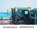 basket for lifting equipment... | Shutterstock . vector #1099435553