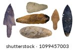 collection of authentic mayan... | Shutterstock . vector #1099457003