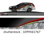 suv car graphics for vinyl wrap.... | Shutterstock .eps vector #1099461767