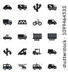 set of vector isolated black... | Shutterstock .eps vector #1099464533