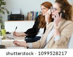 shot of pretty young business... | Shutterstock . vector #1099528217