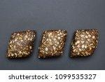 three artisan   hand made brown ... | Shutterstock . vector #1099535327