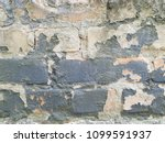 some old bricks in the wall.... | Shutterstock . vector #1099591937