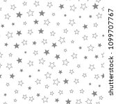 stars pattern. abstract... | Shutterstock .eps vector #1099707767