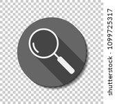 loupe  search or magnifying.... | Shutterstock .eps vector #1099725317
