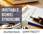 irritable bowel syndrome  ibs . ...   Shutterstock . vector #1099750277