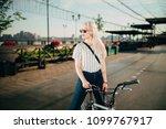 portrait of a beautiful girl in ... | Shutterstock . vector #1099767917