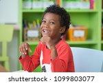 african american ethnicity kid... | Shutterstock . vector #1099803077
