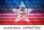 independence day of usa vector...   Shutterstock .eps vector #1099857503