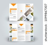 brochure template. business... | Shutterstock .eps vector #1099867307