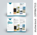 brochure template. business... | Shutterstock .eps vector #1099867313
