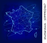 global logistics network... | Shutterstock .eps vector #1099902467