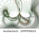 beautiful abstract fractal | Shutterstock . vector #1099950623