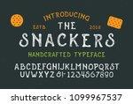 original handmade alphabet.... | Shutterstock .eps vector #1099967537
