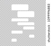 message chat bubbles vector... | Shutterstock .eps vector #1099996883