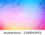 neurones vector illustration...   Shutterstock .eps vector #1100043953
