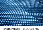 sports stadium with empty seats ... | Shutterstock . vector #1100131787
