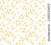 cute floral pattern in the... | Shutterstock .eps vector #1100210453