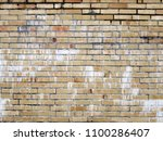 vintage brick wall background... | Shutterstock . vector #1100286407