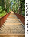 walkway into the temple in the... | Shutterstock . vector #1100334827