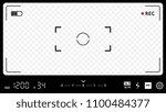 modern camera focusing screen... | Shutterstock .eps vector #1100484377