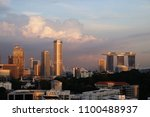 may 13th 2018  singapore... | Shutterstock . vector #1100488937