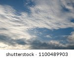 blue sky and clouds | Shutterstock . vector #1100489903