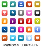 devices icons set   vector... | Shutterstock .eps vector #1100511647