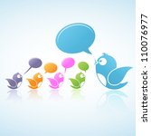 Social Media Discussion (Vector illustration of social media)