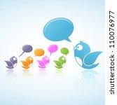 Social Media Discussion (Vector illustration of social media)