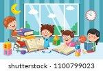 vector illustration of... | Shutterstock .eps vector #1100799023