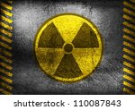 Nuclear Radiation Symbol On...