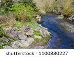 saltwater state park in des... | Shutterstock . vector #1100880227